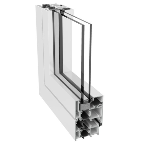 Ventana serie XP 60 TH+ RPT (1 H
